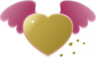 gouden-hart-met-roze-vleugels-clip-art_421299